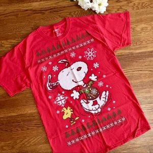 Snoopy Christmas holiday T-shirt M